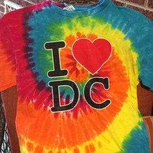 Tops - Washington DC tue dye shirt
